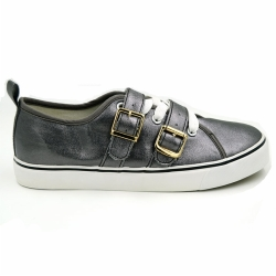 Vulcanized low cut women  shoe