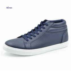 Classic middle cut lace up style unisex sneakers